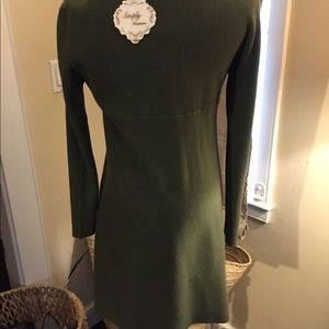 Mimumaxi cascade dress